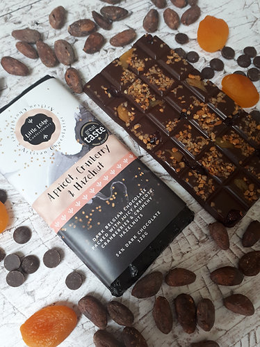 Apricot, Cranberry & Hazelnut Bar