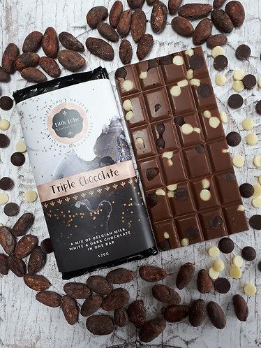 Triple Chocolate Bar