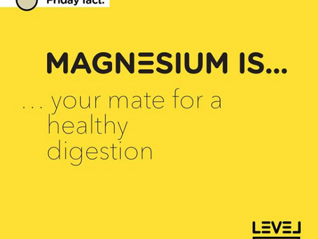 Magnesium... is your mate for healthy digestion