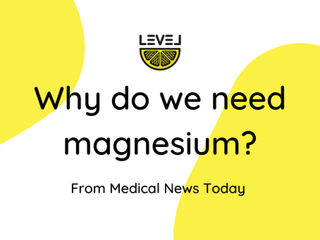 Why do we need magnesium?