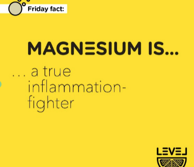 Magnesium is... a true inflammation fighter