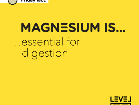 Magnesium is... essential for digestion