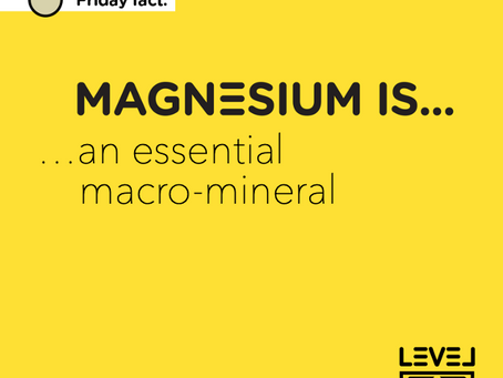 Magnesium is... an essential macro-mineral