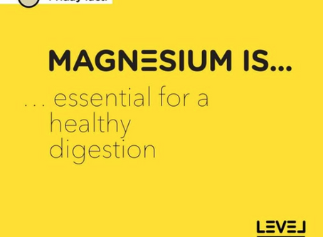 Magnesium is... essential for a healthy digestion