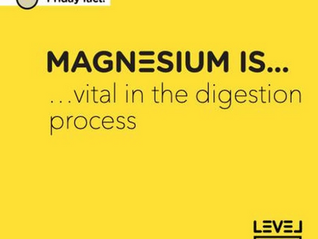 Magnesium is... vital in the digestion process