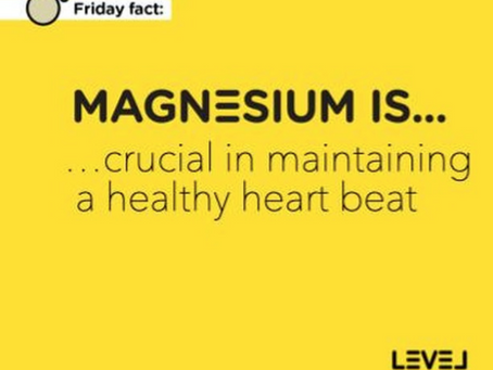Magnesium is... crucial in maintaining a healthy heart beat