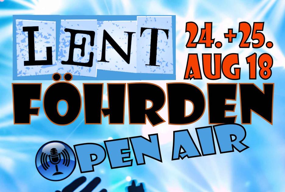 Next gig: 25.8.2018 Lentföhrden Open Air