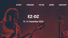 "Next Gig:  14.12.  21.00 h EZ/DZ at ""Teufel Live Music Club"", Hammorer Weg 26, 22941 Bargt"