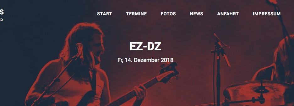 """Next Gig:  14.12.  21.00 h EZ/DZ at """"Teufel Live Music Club"""", Hammorer Weg 26, 22941 Bargt"""