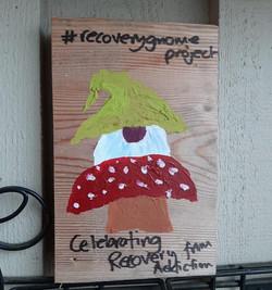 Mayne Island Recovery Gnome