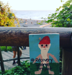 Wreck Beach Recovery Gnome
