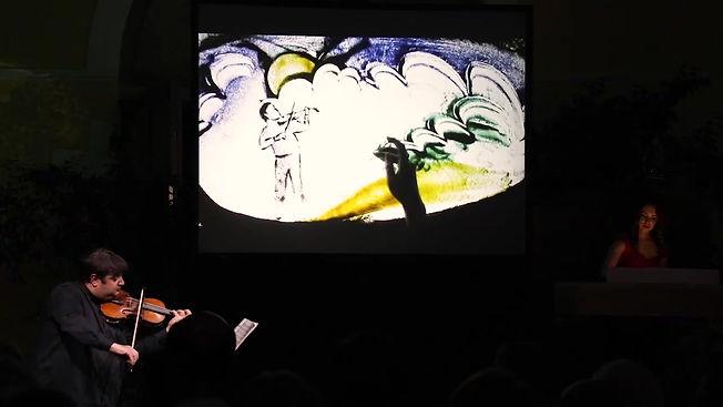 Песочное шоу в Пушкинском музее с живой музыкой