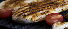 Grilled Fish Steak