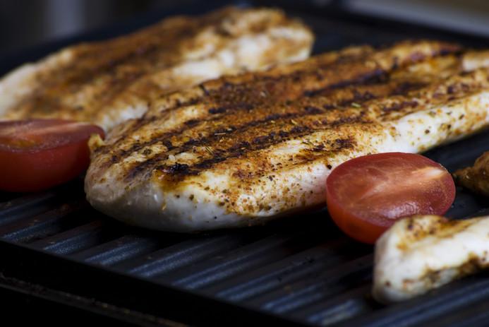 Grilled Fish Steak
