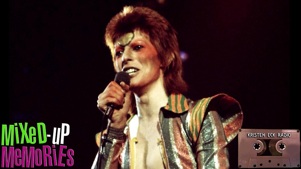 David Bowie in Mixed-Up Memories: 6/16/2018