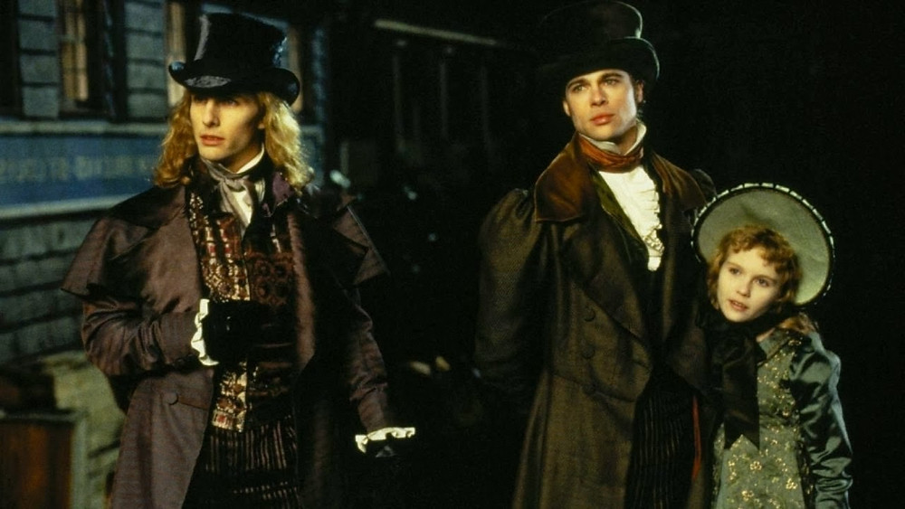 Tom Cruise, Brad Pitt, and Kirstin Dunst in Interview with the Vampire