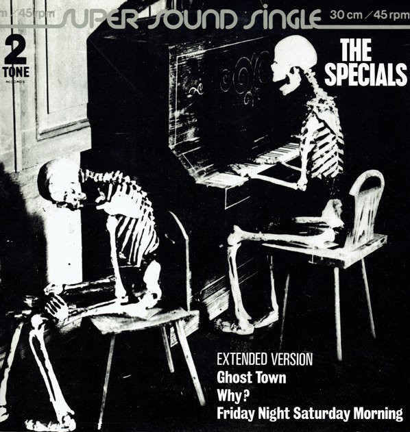The Specials - Ghost Town 45-rpm jacket