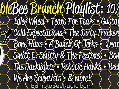 BumbleBee Brunch Playlist: 10/8/21