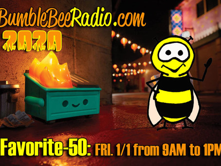 BumbleBee Radio: Favorite-50 of 2020