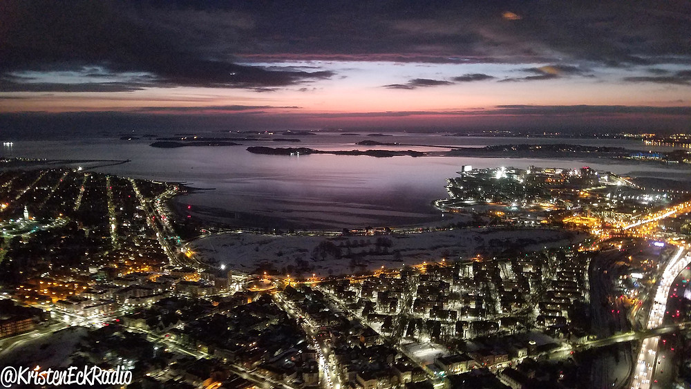 Carson Beach in South Boston by Kristen Eck