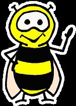 BUMBLE BEE RADIO BEE FOR BLACK BACKGROUN