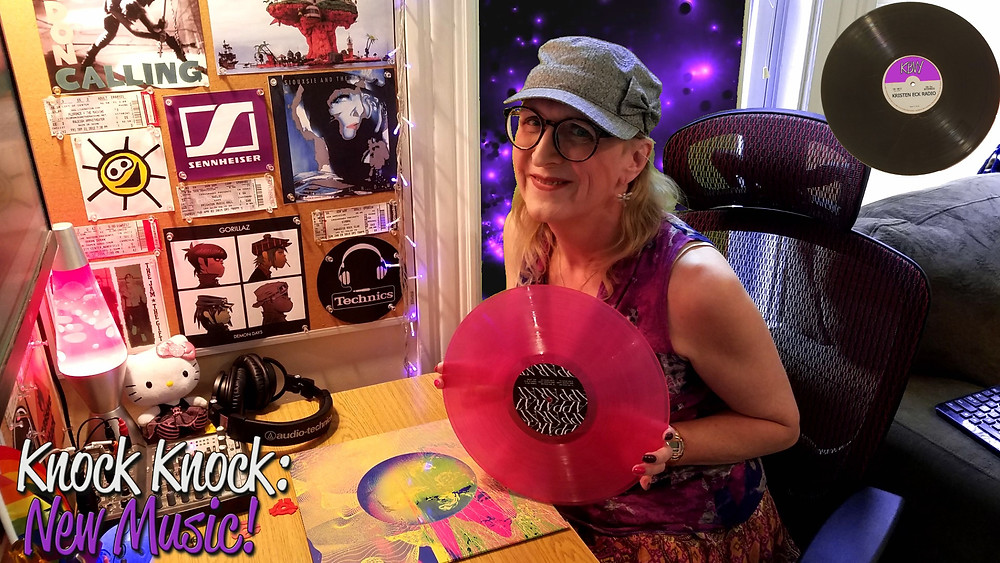 Kristen Eck with the new album from Apparat