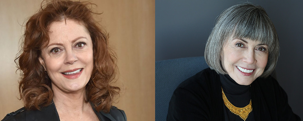 Happy Birthday Susan Sarandon & Anne Rice!