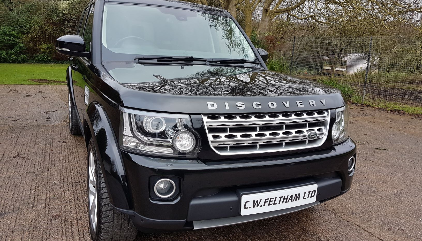Land Rover Discovery 4 SD front rig