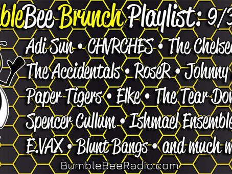 BumbleBee Brunch Playlist: 9/3/2021