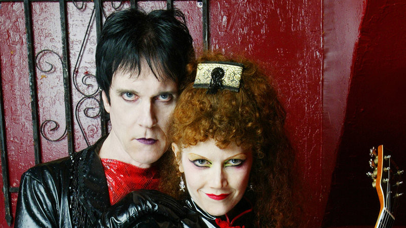 Lux Interior and Posion Ivy of The Cramps