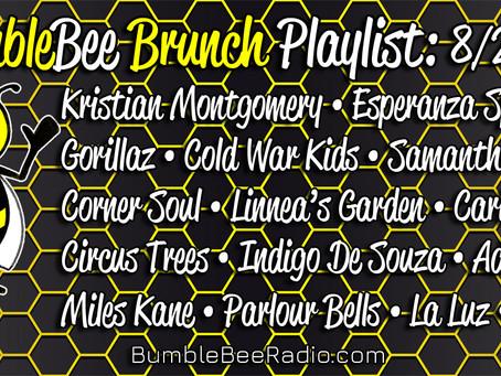 BumbleBee Brunch Playlist: 8/27/2021