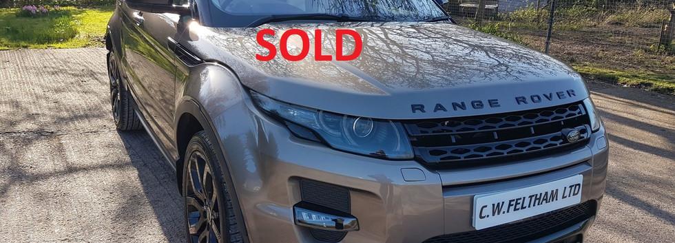 Range Rover Evoque Bridgwater Somerset 3