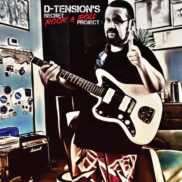 D-Tension's Secret Rock & Roll Project. Image by Sky Perez.