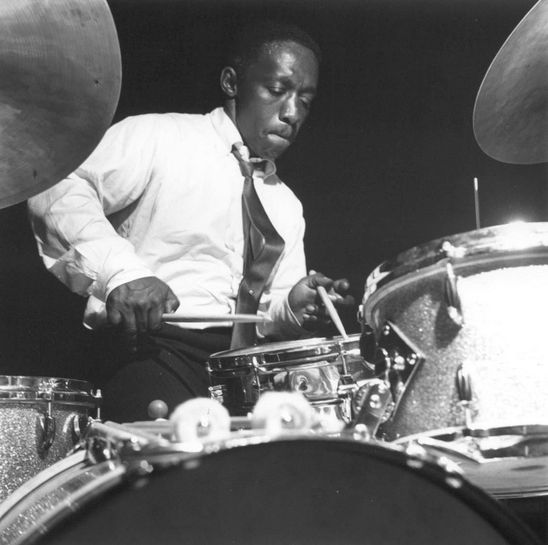 Art Blakey. Photo by Francis Wolff.