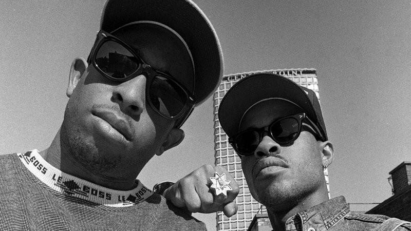 Gang Starr's DJ Premier and MC Guru