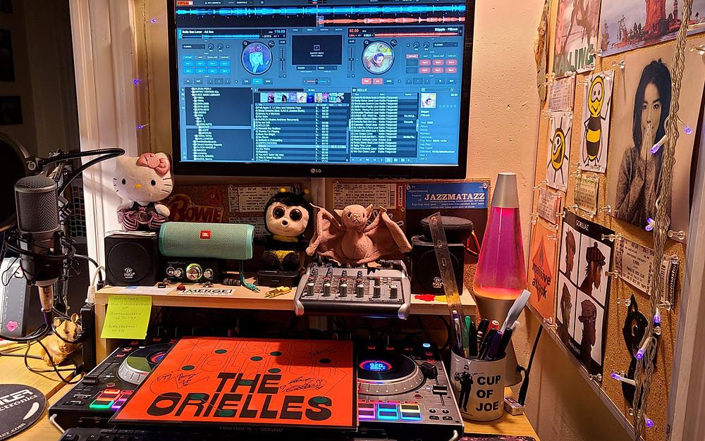 BumbleBee Radio Studio with the new Orielles LP