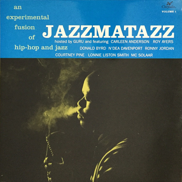 Guru - Jazzmatazz Volume 1 album cover