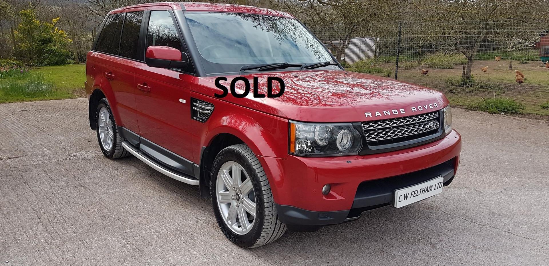Range Rover Sport Black Edition Taunton