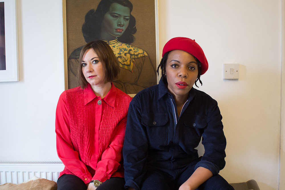Gemma Cullingford & Maria Uzor of Sink Ya Teeth