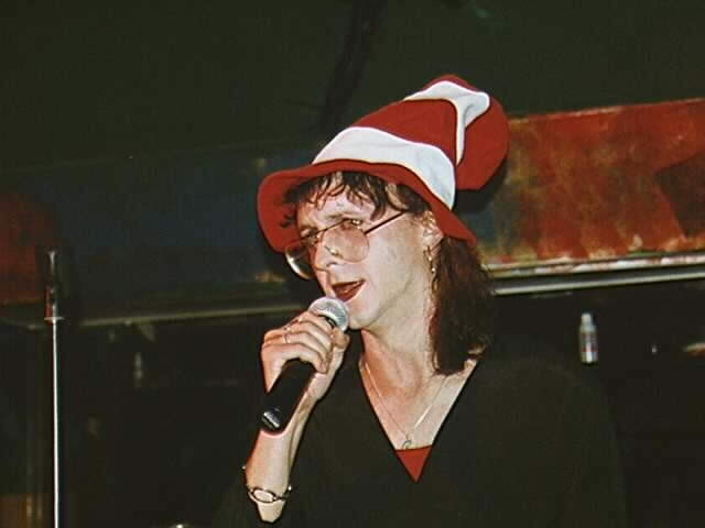 Kristen Eck in 1997 with Space Pussy at Vixen in Provincetown, MA
