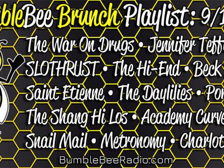 BumbleBee Brunch Playlist: 9/17/21