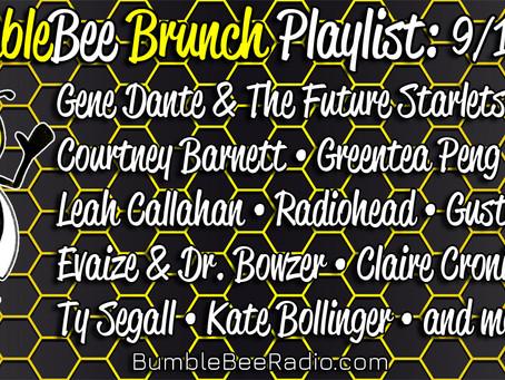 BumbleBee Brunch Playlist: 9/10/21
