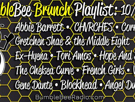 BumbleBee Brunch Playlist: 10/1/21