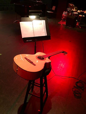 Guitar Concert and Vocal Cabaret in Northern, Virginia. May 6, 2017.