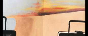 progress-shot-beach-mural-clouds-sun-hou