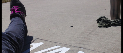 Quarter-mile-marker-sign-vicious-art-stu
