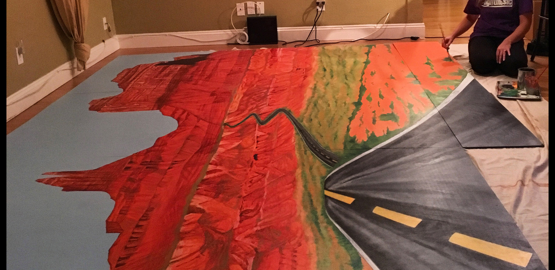 mural-monument-paint-scenery-valley-ariz