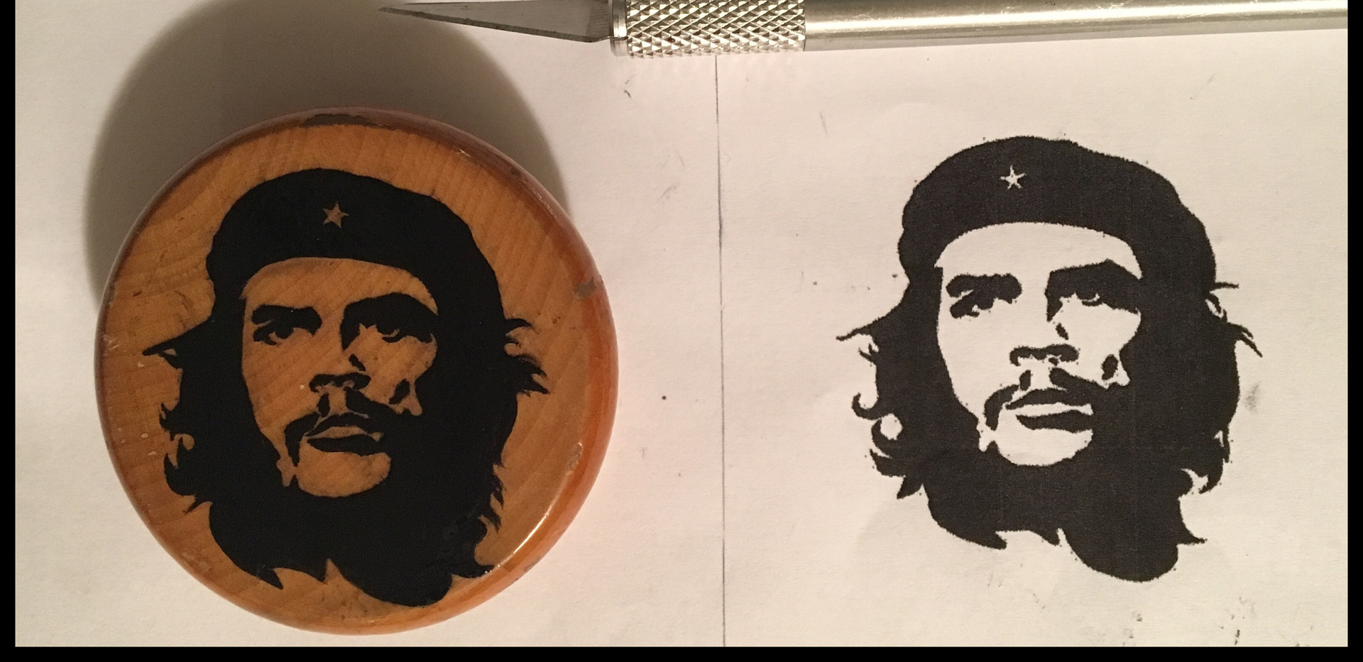che-grinder-wood-oil-hand-painted-portra