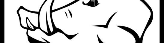 Boar Feeding Families logo-viciousart-vi
