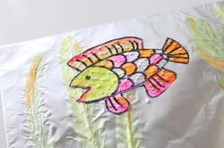 Tin foil fish